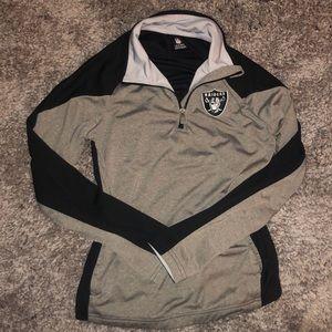 Raiders track jacket